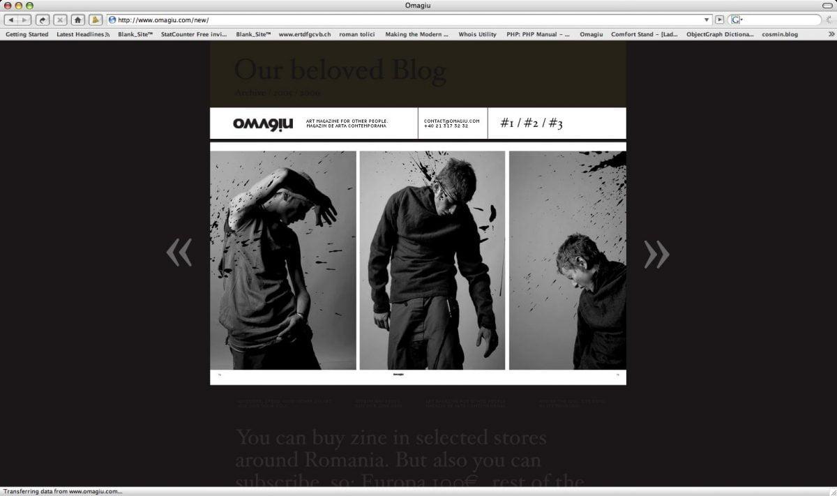 Omagiu Magazine